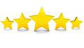 five-stars-golden