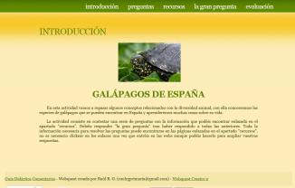 Caza del tesoro (5º Primaria) - Galápagos de España